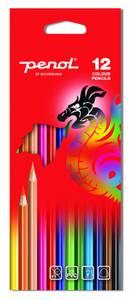 Bilde av Penol fargeblyanter tynne, 12 stk