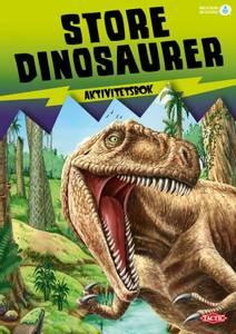 Bilde av Aktivitetsbok, store dinosaurer